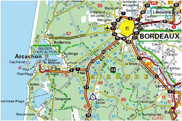 Situation - Distance en milles nautiques entre 2 ports ...